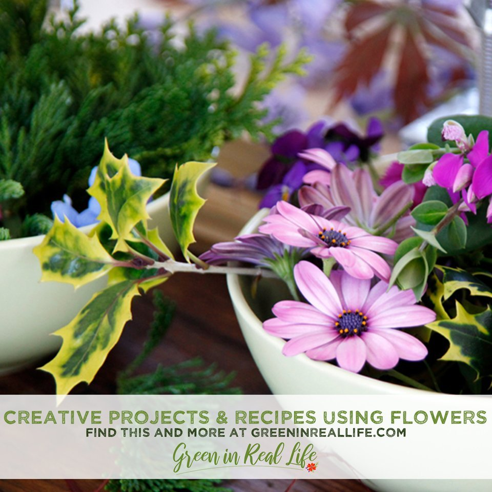 Creative Projects, Crafts, and Recipes Using Flowers