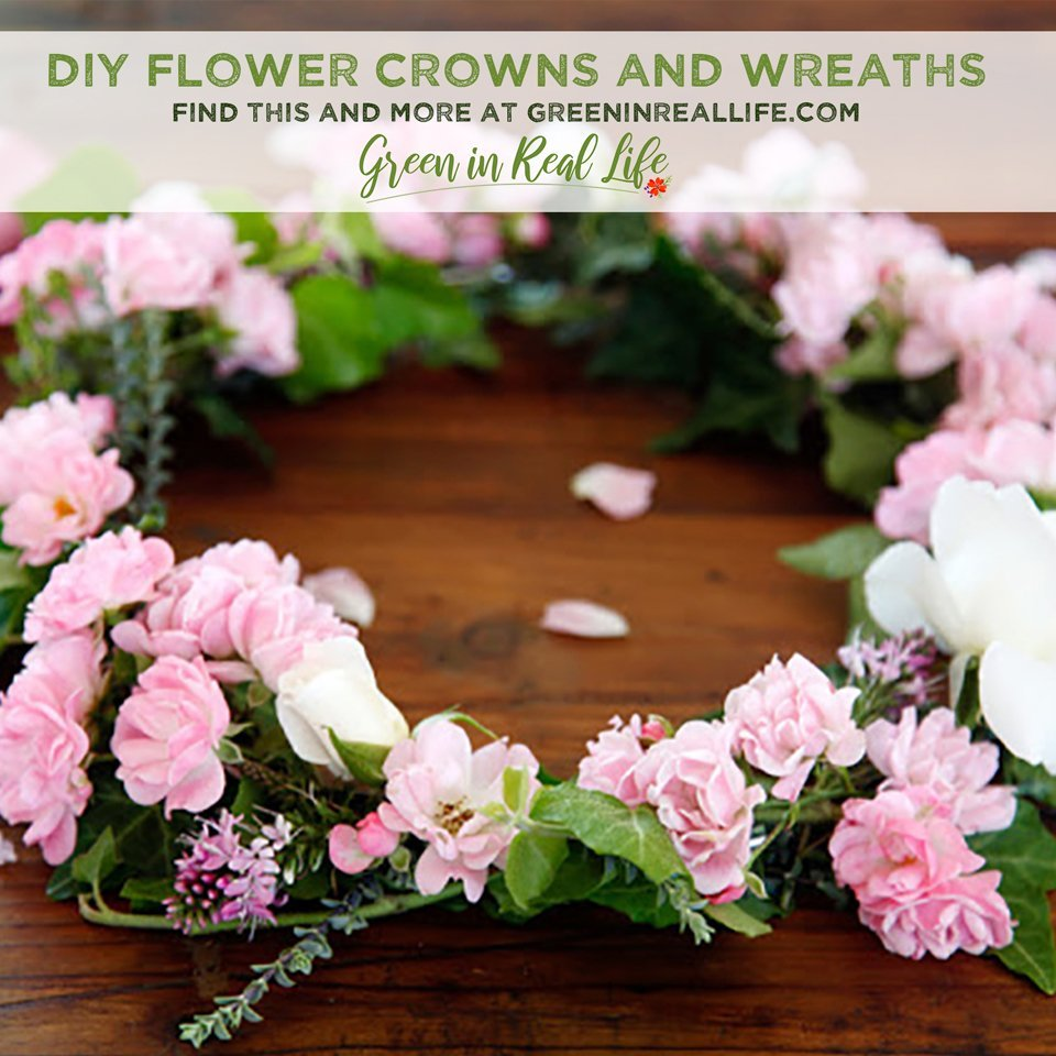 DIY Flower Crowns and Floral Wreaths