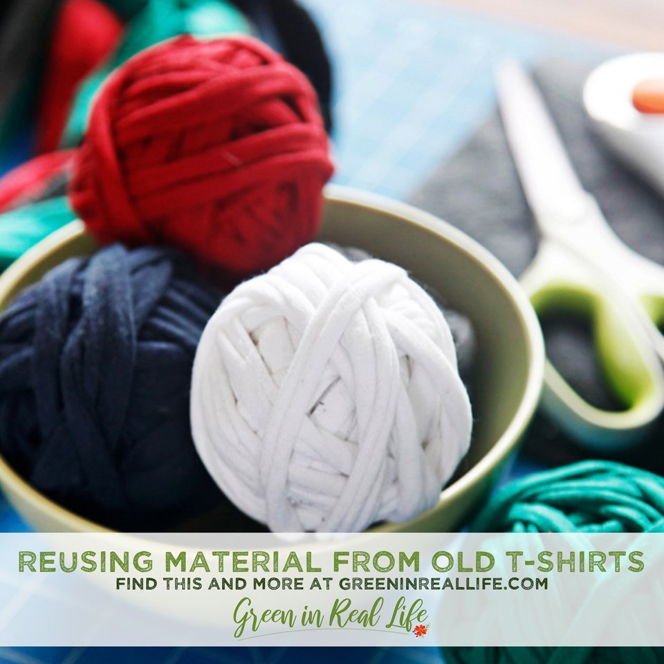 Ideas for Reusing Material from Old T-Shirts