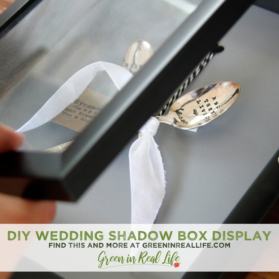 DIY Wedding Memorabilia Shadow Boxes