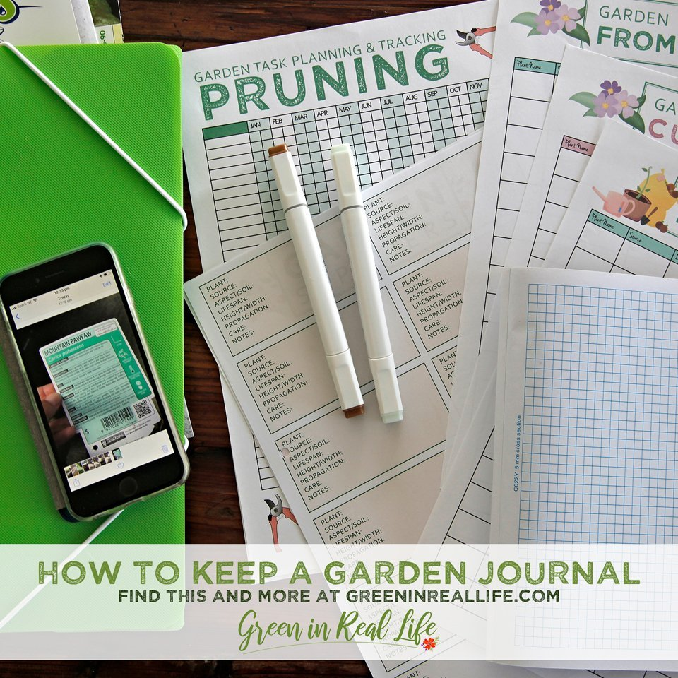 How to Keep a Garden Journal