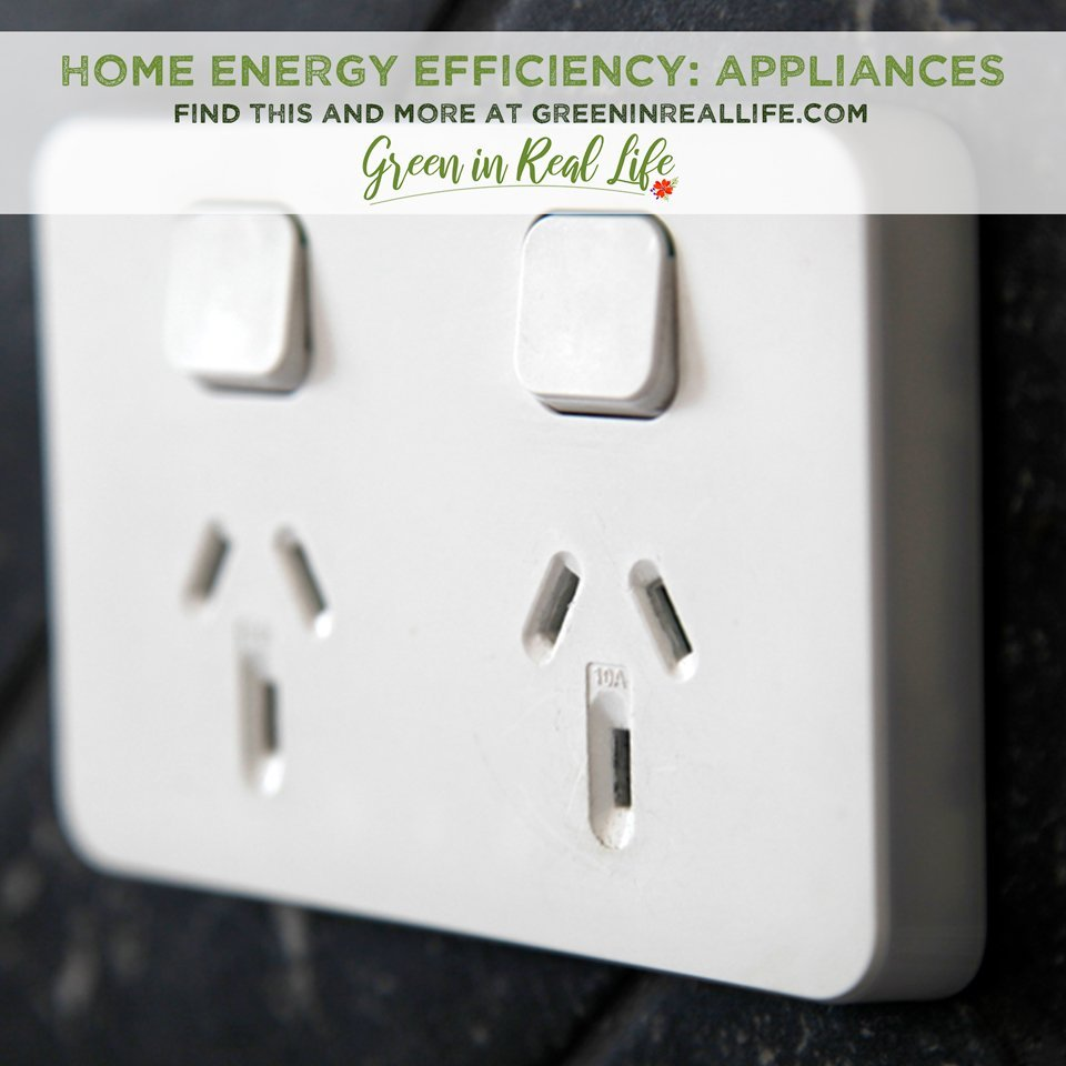 Improving the Energy Efficiency of Home Appliances