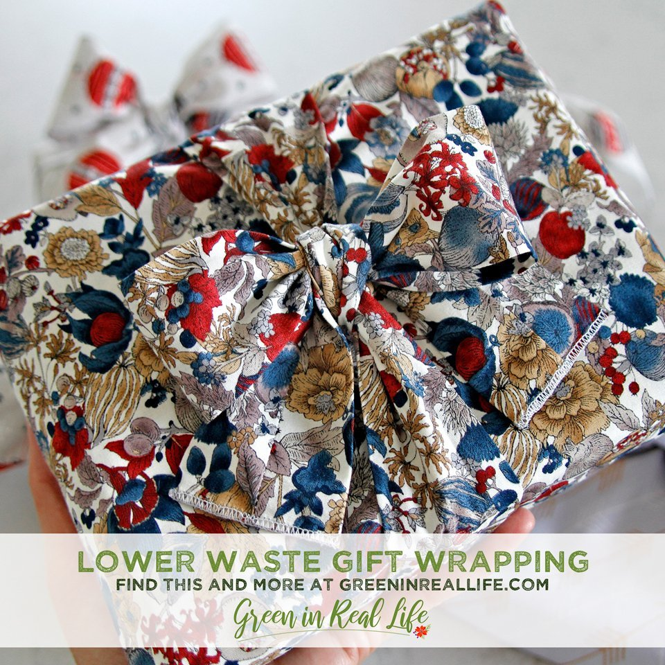 Lower Waste Gift Wrapping Ideas