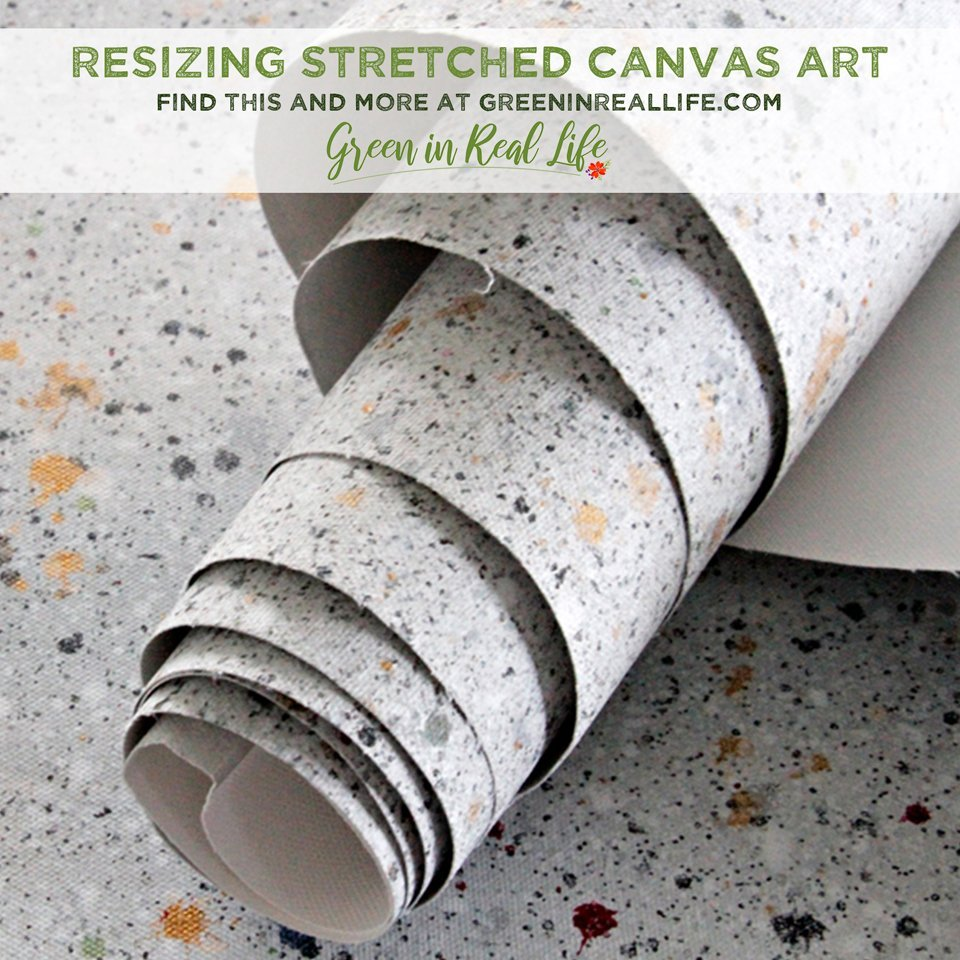 Resizing Stretched Canvas Art