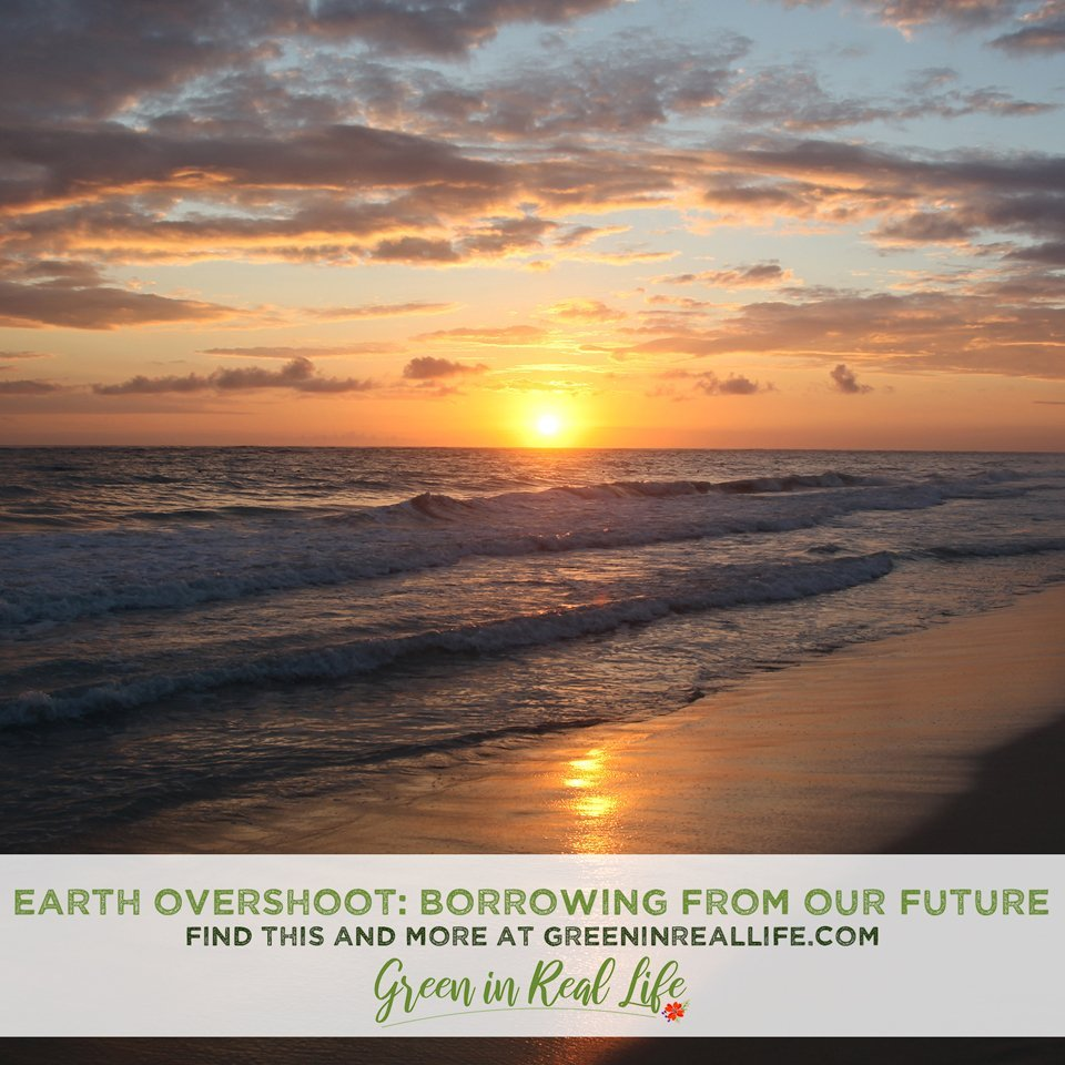 Earth Overshoot Day Borrowing From Our Future
