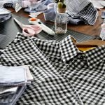 Cutting apart of work dress shirts for fabric reuse